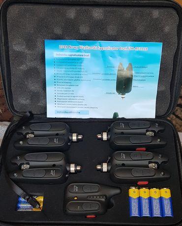 Elektroniczny sygnalizator brań 4+1