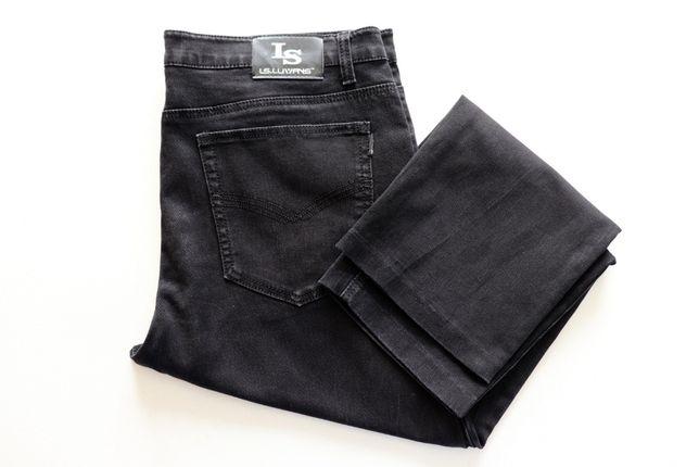 Spodnie męskie jeansy LS.Luwans W42 L30. Rozciągliwe.Stan bardzo dobry