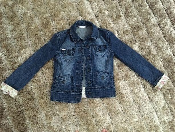 Next jeansowa kurteczka