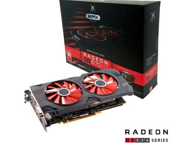AMD rx570 4gb xfx .256bit.gddr5