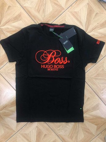 Hugo Boss Koszulka Meska HAFTOWANE