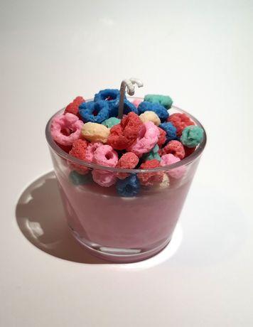 Świeca sojowa 'fruit loops'