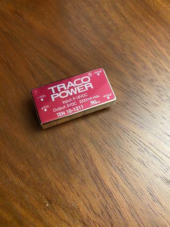 Преобразователи постоянного тока в постоянный TRACO POWER TEN 10-1211
