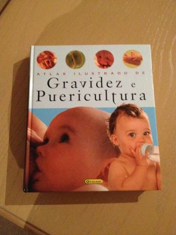 Livro Atlas ilustardo de gravidez e puericultura