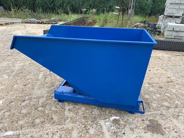 Kontener 1,1 m3 pojemnik do wózka na odpady złom gruz szkło inne