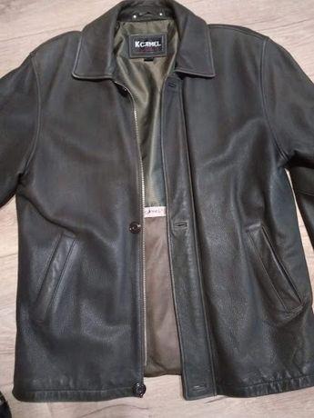 Продам мужскую куртку из нубука 50р.
