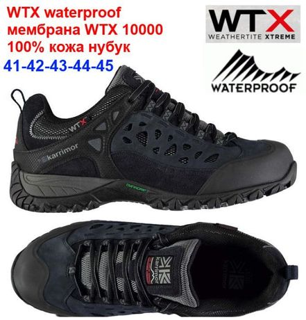 Мужские кроссовки Karrimor Corrie waterproof 41-44 Кожа мембрана