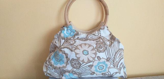 letnia torba z tkaniny