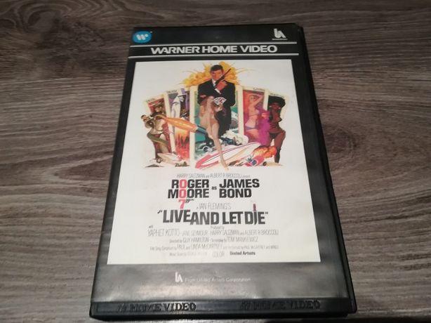 "kaseta video James Bond ""Live And Let Die"" (""Żyj i pozwól umrzeć"")"