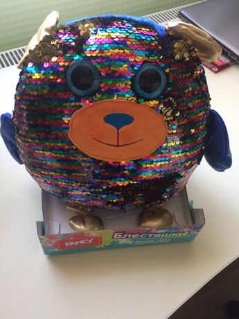 Мишка медведь игрушечный Fancy Блестяшки новый