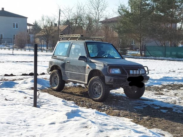 Suzuki  vitara off road