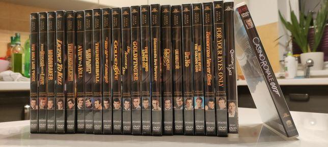 James Bond kolekcja zestaw DVD