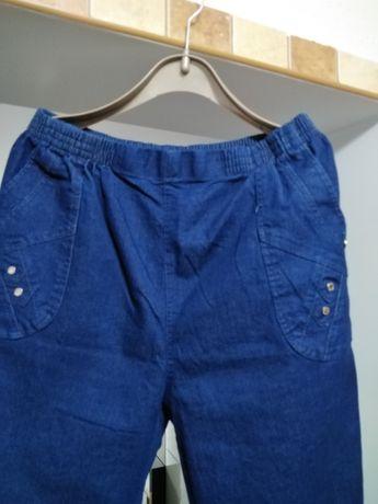 Spodnie dżinsy roz 54