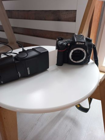 Nikon d7100 i lampa nissin
