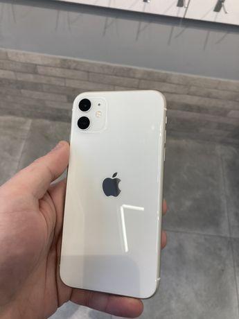 Apple iPhone 11  white 128GB used NEVERLOCK