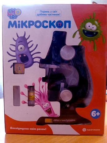 Дитячий мікроскоп «Мікроскоп C2119» з аксесуарами від бренду «Limo toy
