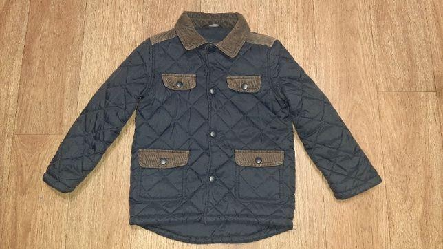 Демисезонная утепленная стеганая куртка George на рост 110-116 см.
