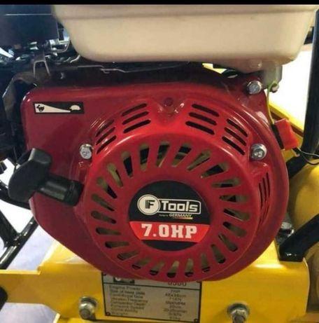 Compactadora placa vibratória a gasolina ftools 192cc