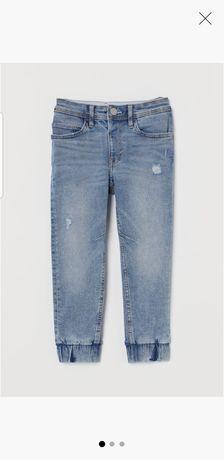 Jeansy H&M rozmiar 128