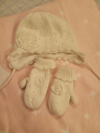 Зимняя милота от H&M ( шапочка,перчаточки)