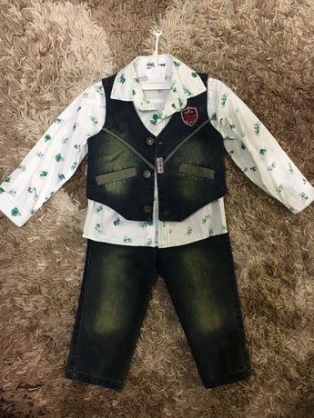 Джинсовый , нарядный костюм 3-ка!!!