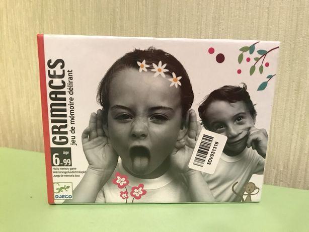 Настольная игра DJECO «Гримасы»