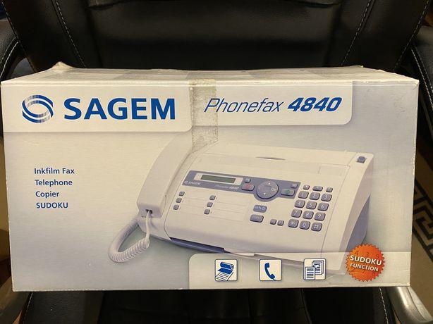 FAX Sagem Phonefax 4840 - NOVO!