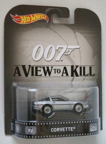 Hot Wheels Retro Entertainment __ James Bond 007 __ Corvette _