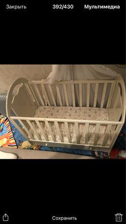 Детская Кроватка Качалка Люлька