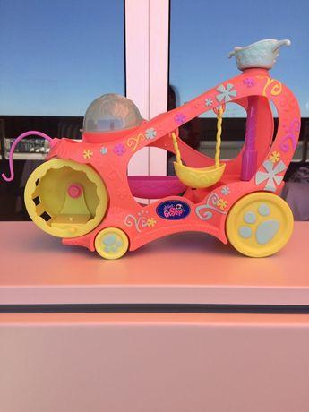 Carro das Littlest PetShop