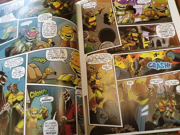 Wojownicze żółwie ninja Annual teenage mutant ninja komiks angielski