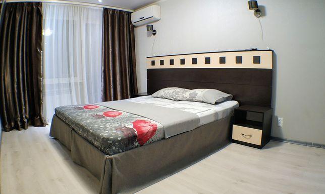 Посуточно, почасово 1но комнатный люкс Соцгород Гагарина Центр