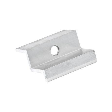Klema aluminiowa końcowa 42,3×26,8 fotowoltaika