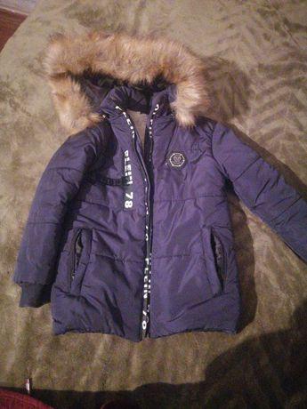 куртка на мальчика,рост 110- 118.