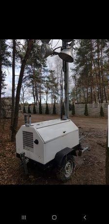 Wieża oswietleniowa Terex rl4050d silnik Kubota 4x1000w
