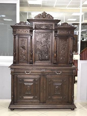 Кредес буфет сервант антиквариат полная реставрация , мебель бу
