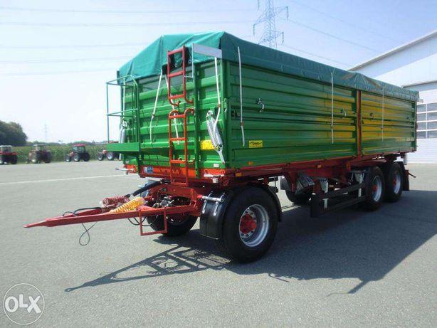 Przyczepa trzyosiowa PRONAR T780 paletowa 16,3 ton / 18,5 m² / 26 m³