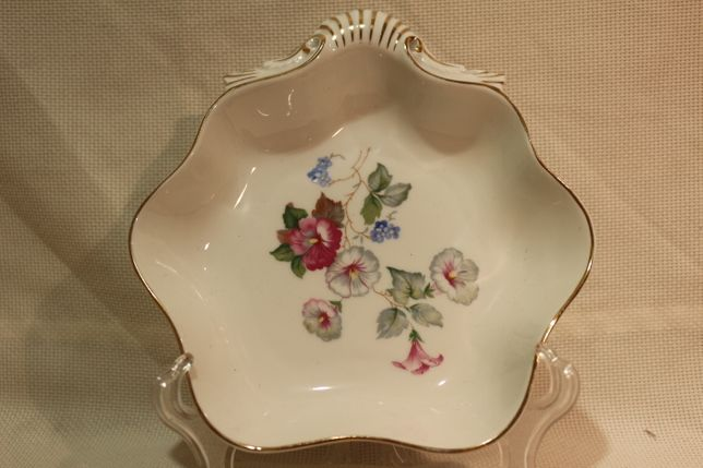 Rara Concha Cantão Vista Alegre Ramo Floral 1947 20 cm