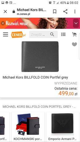 Michael kors portfel meski
