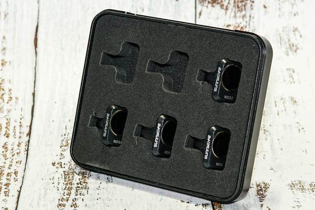 Фильтры для объектива DJI Mavic Mini 2/Mini (ND4, ND8, ND16, ND32)