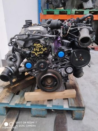 Motor Mercedes sport coupe 646962