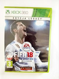Fifa 18 Xbox 360   .