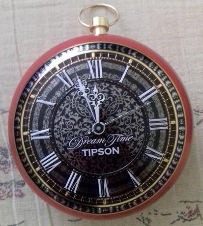 Шкатулка Часы металлическая