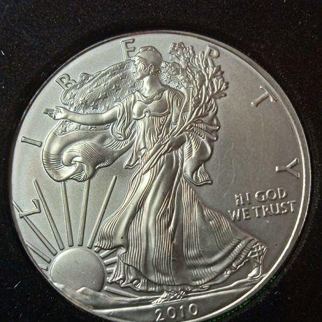 Dolar 1 USA  srebro