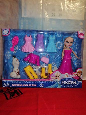 Nowa lalka Elsa Magiczna Przemiana