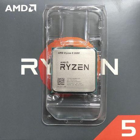 Процеcсор AMD Ryzen 5 2600 3.4GHz/16MB AM4 6ядер/12 потоков!