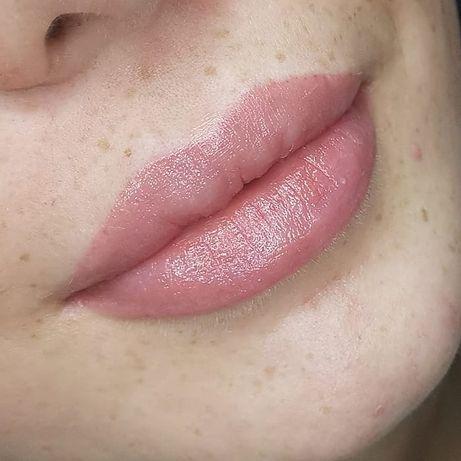 Перманентный макияж 500грн брови губы стрелки акция модели татуаж