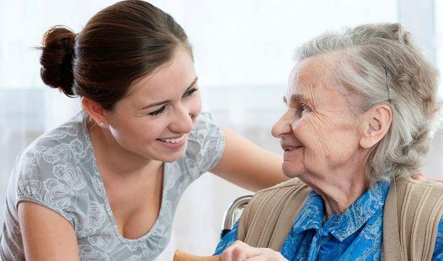 Догляну за бабушкой или дедушкой