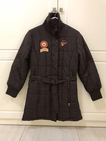 Куртка зимняя пальто плащ курточка