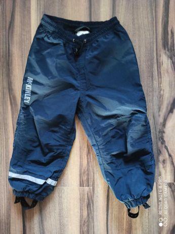 Granatowe spodnie narciarskie dla chłopca